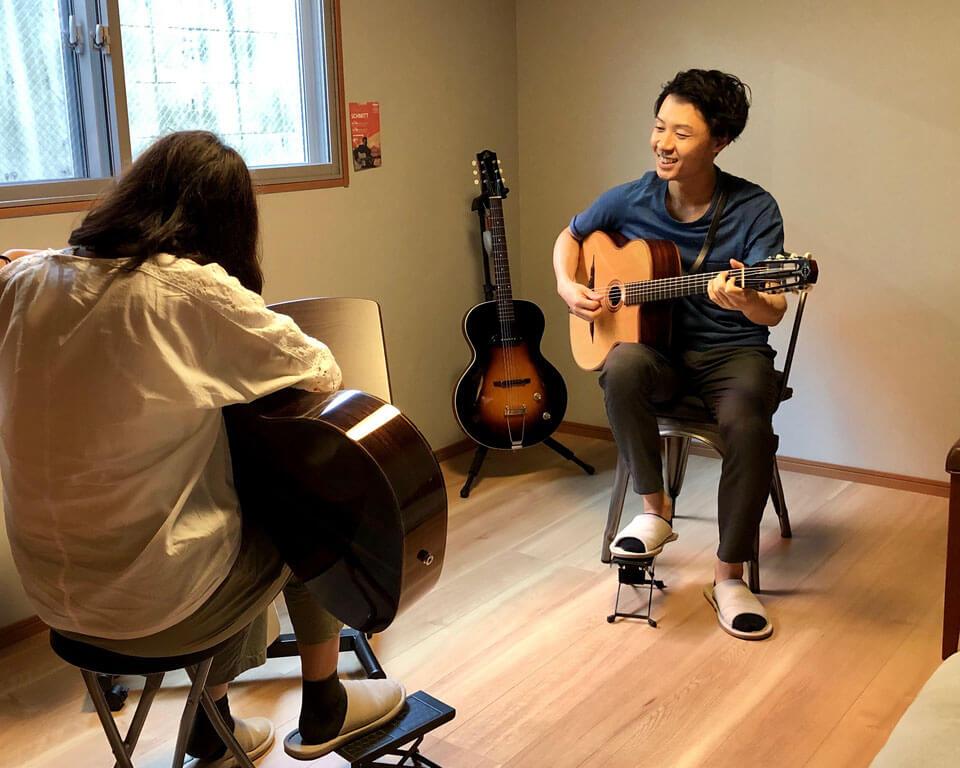 ニシウラトモアキ ギター教室